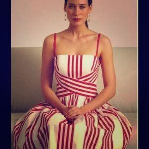 {Anthropologie} Odille Regatta Dress