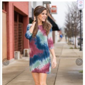 The Mint Julep Multitude of Colors Tunic