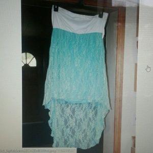 Hi-low summer dress