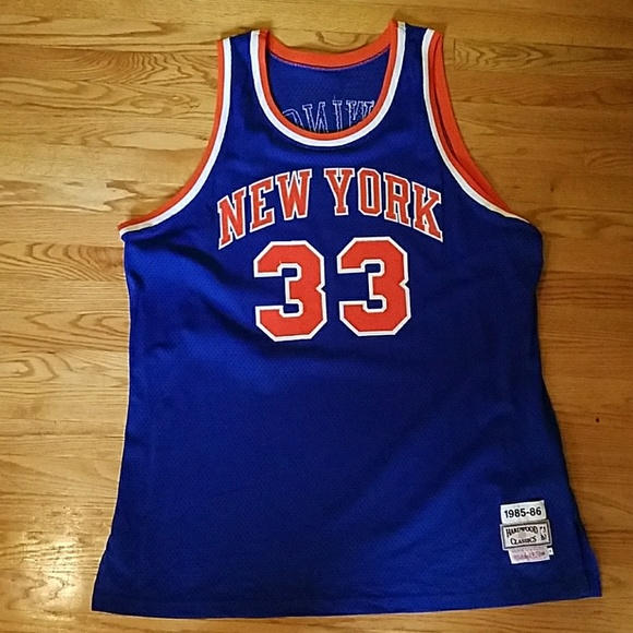 d0a05739e Mitchell & Ness Shirts | Authentic Mitchell Ness Patrick Ewing ...