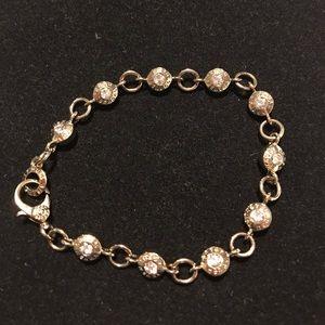 Henri Bendel gold link bracelet