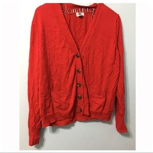 Old Navy Red Cardigan (XXL)
