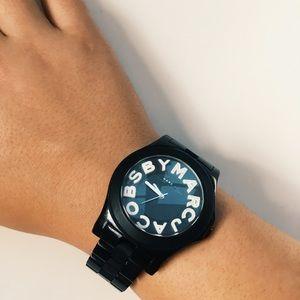 Marc by Marc Jacobs Rhinestone Watch
