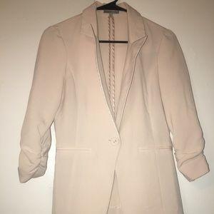 Pearl white blazer