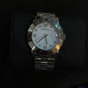 Marc Jacobs watch silver