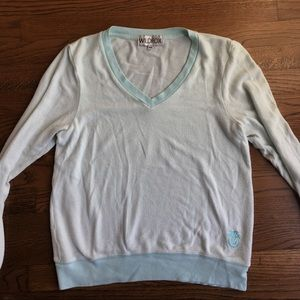 Wildfox light blue jumper