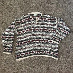 Eddie Bauer sweater Large