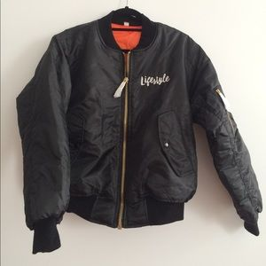Cool bomber jacket 