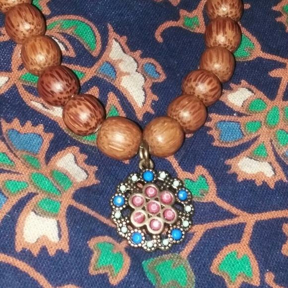Jewelry - 🔰Mandala Charm Beaded Bracelet🔰