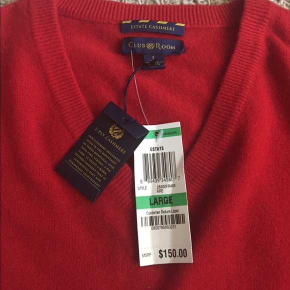 club room sweaters macy estate cashmere large men sweater poshmark rh poshmark com