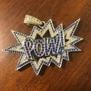 Other - Hip Hop Bling Iced Out Pow Wow Charm Pendant