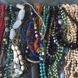 Necklaces. Note which strand & make an offer.