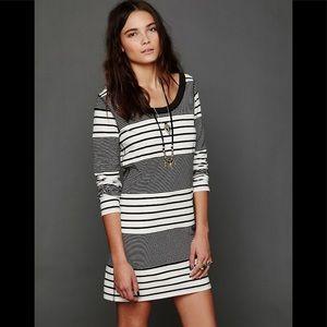 Free People Striped Bodycon Dress