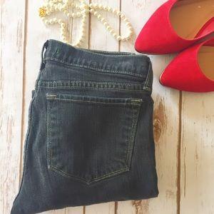 J Brand black cropped jeans