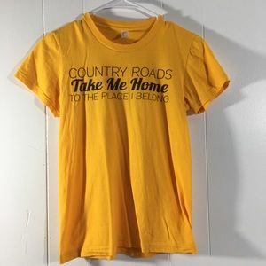 9cb7f3981 American Apparel Tops   West Virginia Mountain Mama Country Roads ...