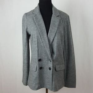 J. CREW 100% WOOL DOUBLE BREASTED BLAZER SIZE 6