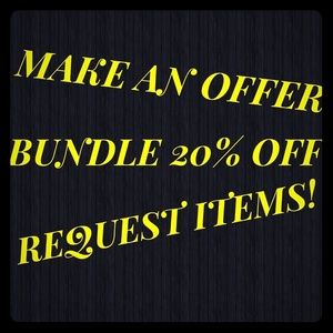 Other - Accepts offers.. Bundle!!