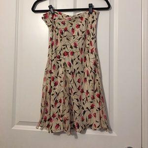 DVF Floral Slip Skirt