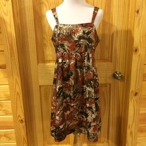 Kensie Sleeveless Silk Dress