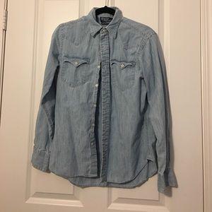 Ralph Lauren Classic Western Denim Shirt