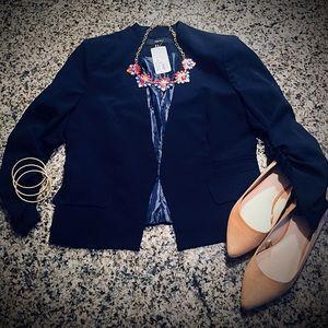 NWT Navy Blue XXI Tailored Style Blazer