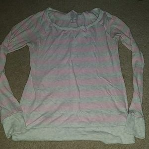 Size medium striped long sleeve top