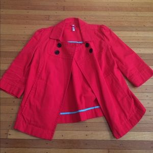 Old Navy Royal 👑Red Overcoat