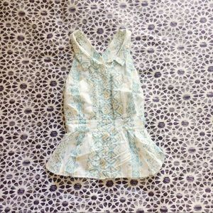 Anthropologie Collared Top
