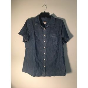 J.Crew Denim Button up Shirt