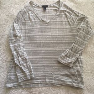 Gap long sleeve striped tee