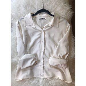 Vintage, Adorable Joan Leslie Button Up Blouse