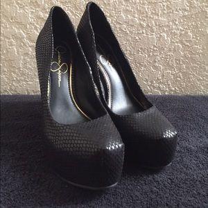Jessica Simpson Black Heels size 6.5
