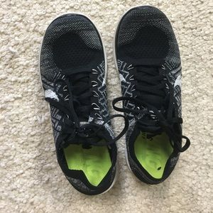 Nike Free Flyknit 4.0 black & white