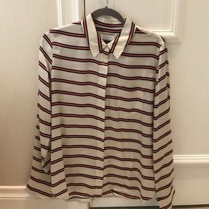 Equipment silk blouse NWOT