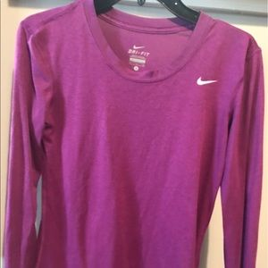 Nike dri-fit running shirt. Like new!