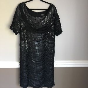Nordstrom AP black cocktail dress