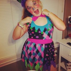 Scary Sassy Clown Costume