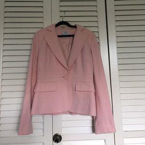 Loft Wool blazer in light pink