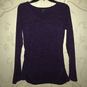 Deep purple top