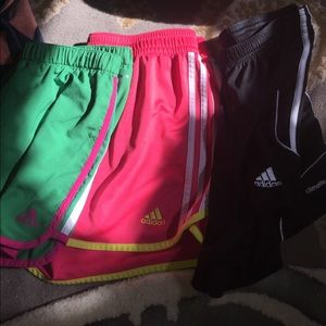 Adidas soccer shorts bundle