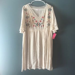 NWT Exhilaration Boho Soul Dress