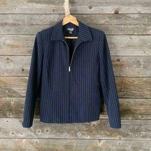 Blazer/jacket 10 petite long sleeve zip up blazer
