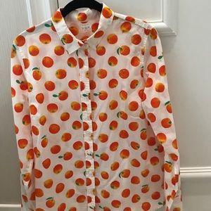 "J Crew ""the perfect shirt"""