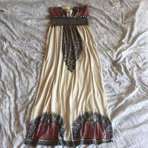Vintage Havana Dashiki Maxi Dress
