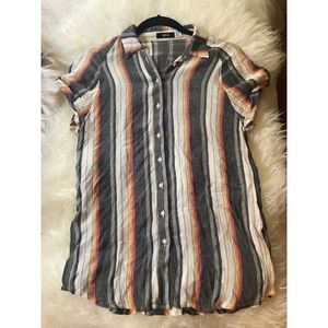 Urban Outfitters BDG Retro Button Up Top