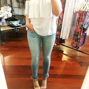 Joe's Jeans Icon Ankle Frayed Jeans in Majorie 29