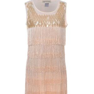 1920s-style Sequins and Fringe Flapper Dress