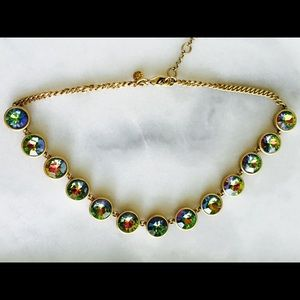 J. Crew Iridescent Gem Necklace