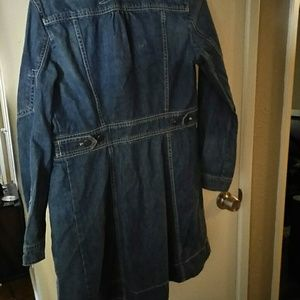 Marc Jacobs Blue Jean Trench