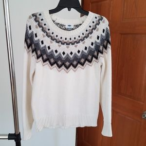Old Navy Soft Fair Isle Sweater - S